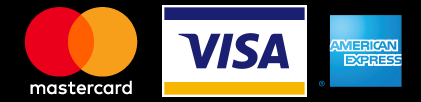 We accept credit and debit cards