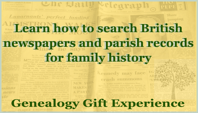 Learn how to search British newspapers and parish records for family history
